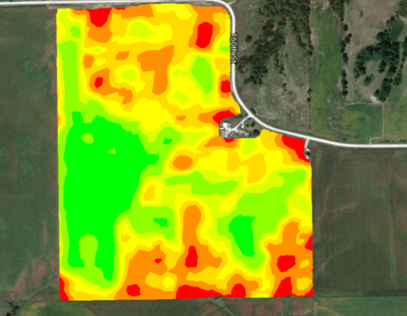 How computer imaging can analyze plots of farmland for optimal crop growing.