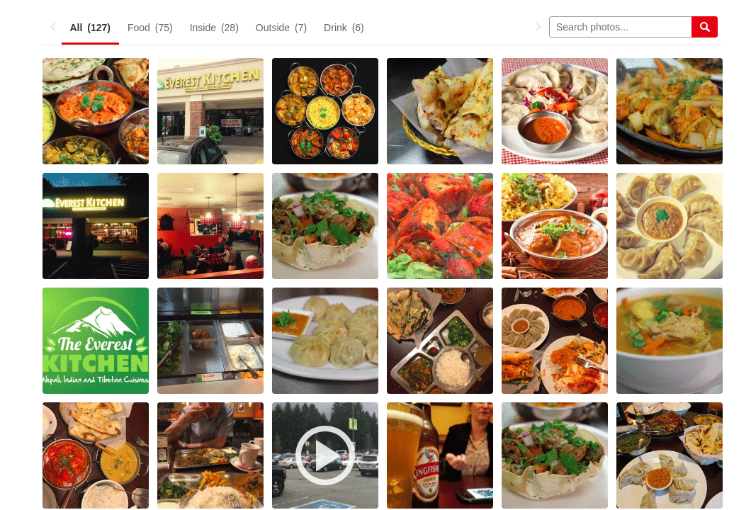 Yelps photo aggregation