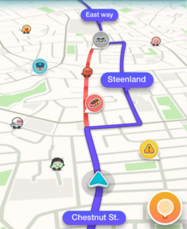 Thanks to Waze, we have a better picture of when to start driving and what roads to avoid.